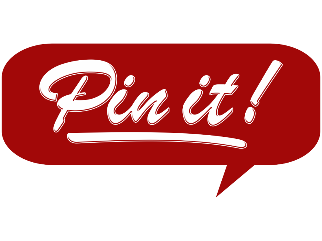 Pin it image from Pinterest for blog